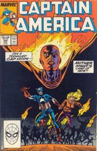 Captain America (1968 series) #356, NM- (Stock photo)
