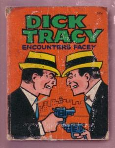 DICK TRACY ENCOUNTERS FACEY- 1967 #2001-COLOR INTERIORS VG