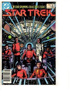 Lot Of 9 Star Trek DC Comic Books # 1 2 56 4 2 5 8 21 8 Spock Captain Kirk JG4