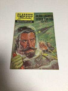 Illustrated Classics Comic No.47 (1970) 20,000 Leagues Under the Sea Fn Fine 6.0