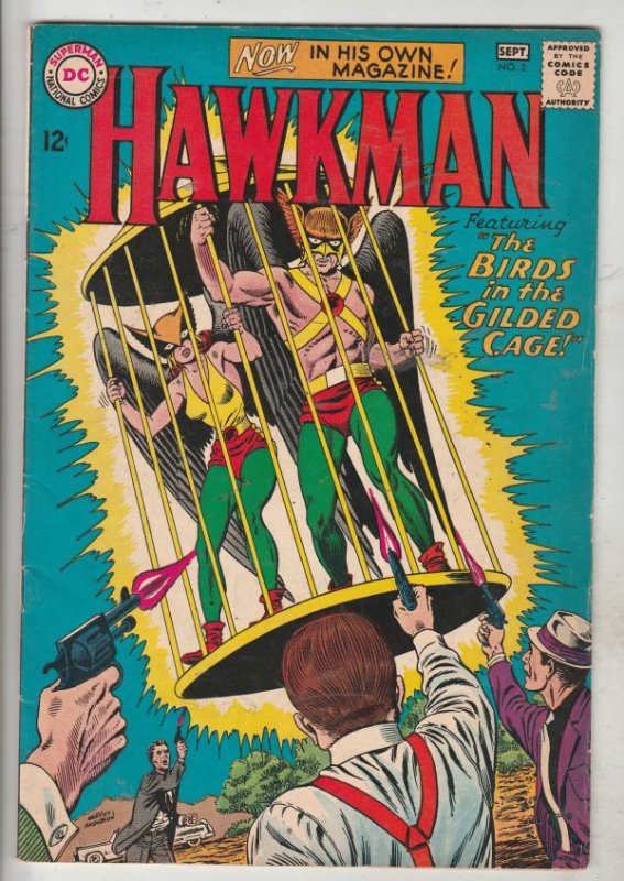 Hawkman #3 (Sep-64) VF/NM- High-Grade Hawkman