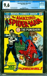 Amazing Spider-Man #129 CGC Graded 9.6 1st appearance of the Punisher (Frank ...