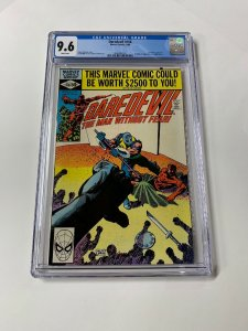 Daredevil 166 Cgc 9.6 White Pages Marvel 1980 Frank Miller 2060495005