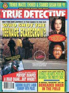 TRUE DETECTIVE-06/95-DILLINGER'S UNTOLD STORY-LONELY-HEARTS PSYCHO-BEHE G/VG