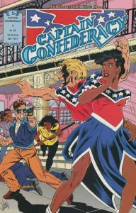 Captain Confederacy (Epic) #2 VF/NM; Epic | save on shipping - details inside