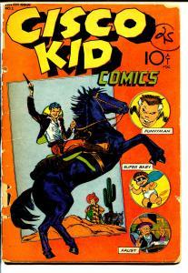 Cisco Kid #103 1944-1st issue-John Guinta-Faust-Super Baby-Funnyman-P