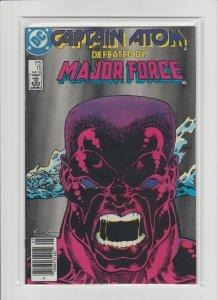 Captain Atom #15 VF+ 8.5 (1988, DC Comics) High Grade Newsstand Variant!