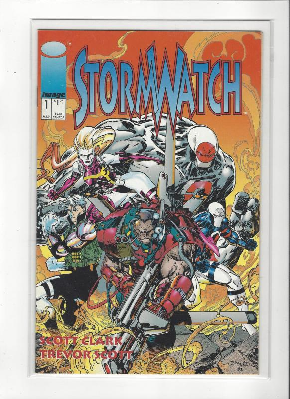 Stormwatch #1 Image Comics Jim Lee Story and Trevor Scott Art NM/M