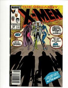 Uncanny X-Men # 244 VF/NM Marvel Comic Book Wolverine Wendigo Storm Cyclops DS4