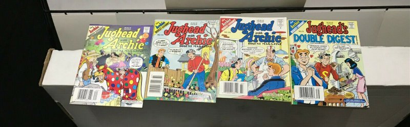 JUGHEAD with ARCHIE DIGEST MAGAZINE LOT of 8+DD Early-Mid 2000's FINE! #4