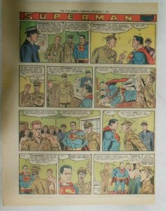 Superman Sunday Page #1045 by Wayne Boring from 11/8/1959 Tabloid Page Size
