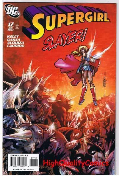 SUPERGIRL #17, NM+, Bloodletting, Joe Kelly, 2005, more in store
