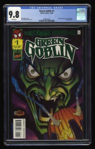 Green Goblin #1 CGC NM/M 9.8 White Pages