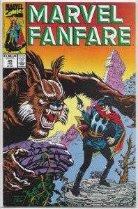Marvel Fanfare (vol. 1, 1982) #49 VG Doctor Strange: Weiss, Two-Gun Kid