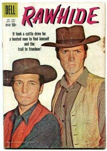 Rawhide- Four Color Comics #1028 1959- Clint Eastwood G+