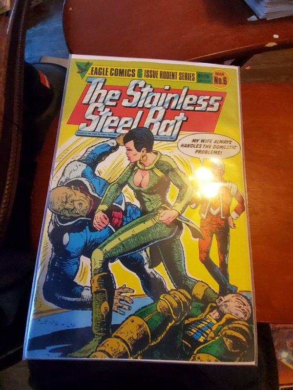 Stainless Steel Rat (GB) #6 (1986)