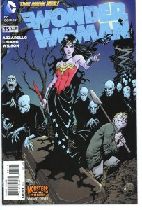 Wonder Woman 35  Monster Variant Cover  9.0 (our highest grade)