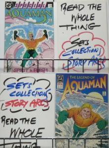 AQUAMAN 1-SHOT 2-PACK! The Legend of Aquaman (1989)/Spirit & Flesh (1988) VF-NM