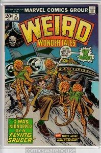 WEIRD WONDER TALES (1973 MARVEL) #2 FN A05524