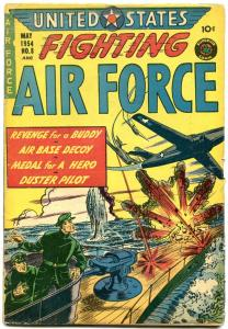 UNITED STATES FIGHTING AIR FORCE #8 SUBMARINE COVER VG