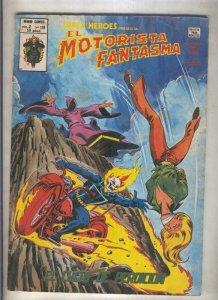 Super Heroes volumen 2 numero 118: El Motorista Fantasma (numerado 1 en trasera)