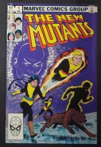 NEW MUTANTS #1, VF/NM, CannonBall, Claremont, Marvel 1983, more in store