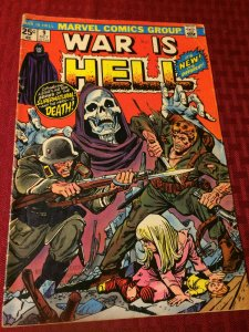 War Is Hell #9 Marvel Comics (1974) GD/VGD New Series of the Supernatural Death