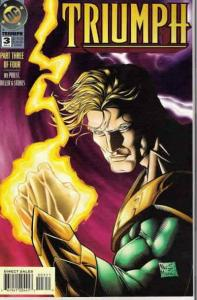 Triumph #3 VF/NM; DC | save on shipping - details inside