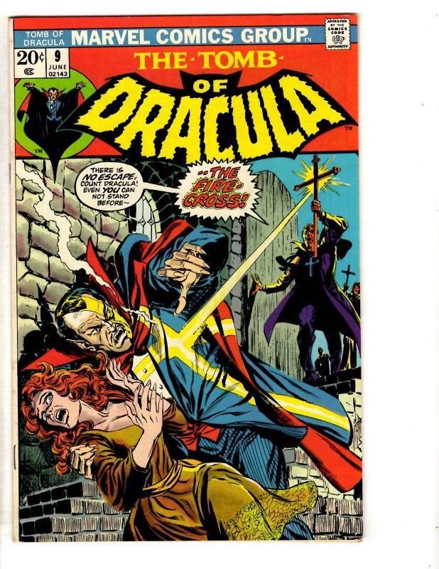 Tomb Of Dracula # 9 VF/NM Marvel Comic Book Vampire Monster Horror Fear TD7