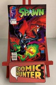 Spawn #1 (Image Comics 1992) Newsstand Edition 1st Spawn, Sam & Twitch (9.0)