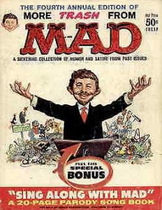 More Trash From Mad #4 VG; E.C   low grade comic - save on shipping - details in