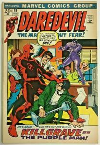 DAREDEVIL#88 FN+ 1972 MARVEL BRONZE AGE COMICS