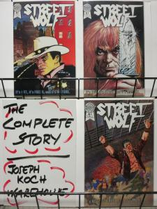STREET WOLF (1986 BL) 1-3 THE SET!