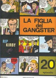 Rip Kirby de Alex Raymond numero 20: La figlia del gangster