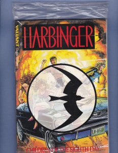 Harbinger Children of the Eighth Day Graphic Novel #1 Sealed with Harbinger #0
