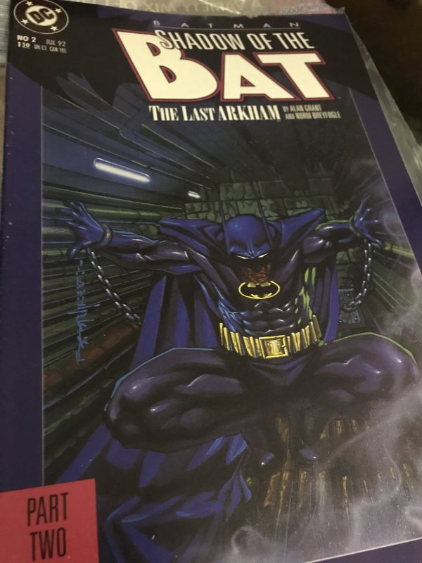 DC Batman Shadow of The Bat #2 Mint