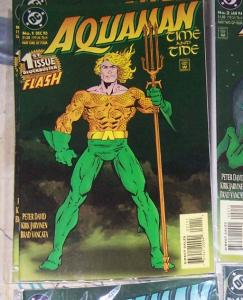 Aquaman: Time and Tide #1    1993, DC) flash jla