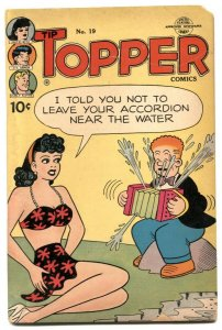 Tip Topper #19 1952- Fritzi Ritz Bikini cover G-