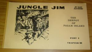 Jungle Jim by Alex Raymond part 1 chapter 3 FN+ the despot of pagan island 1972