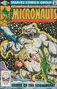 Marvel THE MICRONAUTS (1979 Series) #32 VF