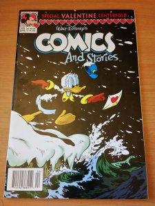 Walt Disney's Comics and Stories #570 ~ NEAR MINT NM ~ 1992 Disney Comics
