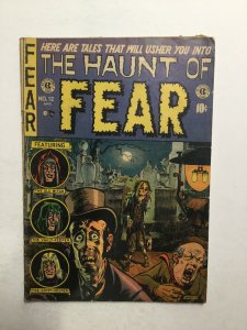 Haunt Of Fear 12 Very Good- Vg- 3.5 Entertainment Comic