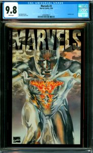 Marvels #3 CGC Graded 9.8 Acetate cover
