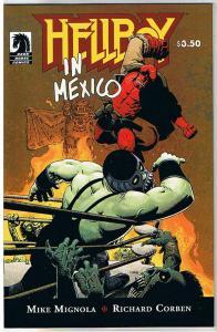 HELLBOY In En MEXICO, NM, Richard Corben, Mike Mignola, 2010, more RC in store