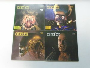 Cinefex Monsters lot 4 different issues avg 6.0 FN (1989-97)