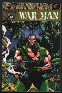 WAR MAN #1-EPIC-1993-VIOLENT DRUG WAR COMIC-HTF
