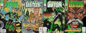 GREEN LANTERN (1990) 9-12  A Guy And His GNORT