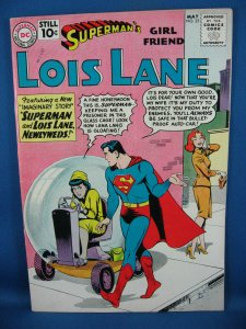 Superman Girlfriend LOIS LANE 25 VF+ JFK Jackie Appearance 1961