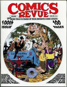 Comics Revue #100 1994-100th Issue-Flash Gordon-Spider-man-Modesty Blaise-VF