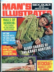 Man's Illustrated Magazine June 1972- Kraut Hunters- Witchcraft